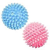 Gobesty Palla da massaggio appuntita, 2 PEZZI Miglior piedino rotante per palline da massaggio appuntite Wakers perfetti per la terapia dei punti trigger, tessuto profondo e sollievo muscolare