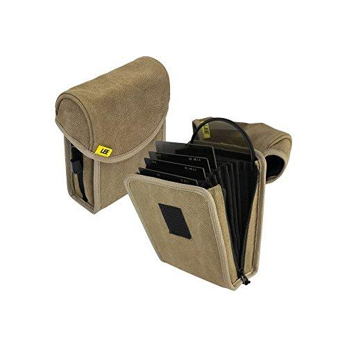 Lee Filters Field Pouch Sand Filtertasche für bis zu 10 Filter aus dem 100mm-System - z.B. für Grauverlaufsfilter - Sandfarben