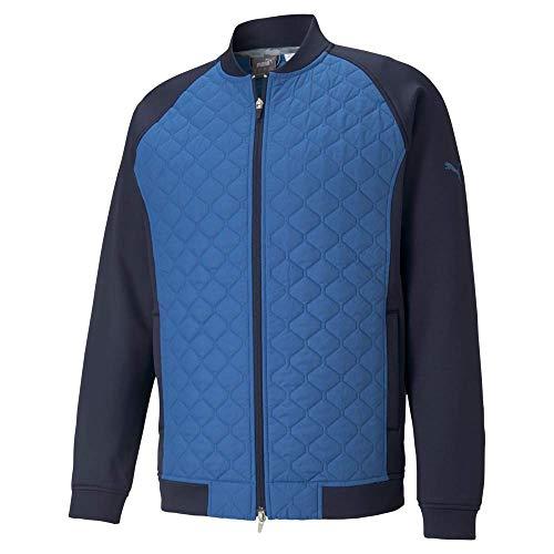 Puma Golf Men's Primaloft Stlth Jacket, Navy Blazer-Star Sapphire, Large
