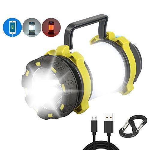 GKD Luce del Lavoro USB 1200LM Campeggio LED Torcia Elettrica Ricaricabile Dimmerabili Spotlight Impermeabile Searchlight Torcia di Emergenza
