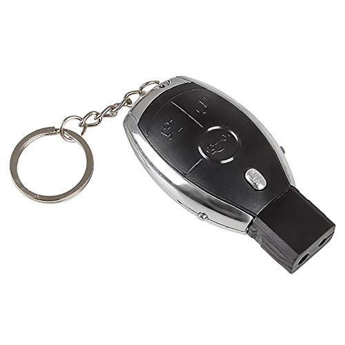 Shocking Car Key, Novelty Shocker Key Fob Keychain Practical Joke Gag Prank, 2.75' (Single)