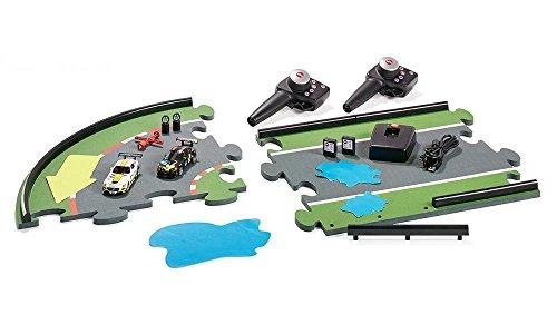 Siku 6810 - GT Challenge Autorennbahn mit 2 Autos und Zubehör Fahrzeuge, mehrfarbig