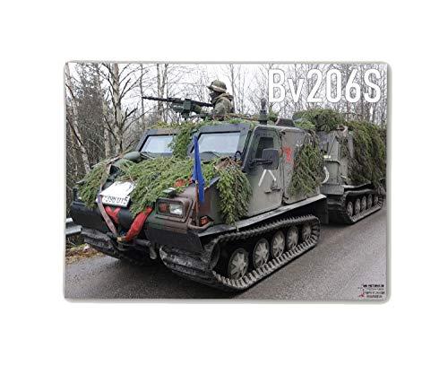 Copytec Poster M&N Pictures Bv206S Bundeswehr Bandvagn hagglund Heer ab30 x 22 cm #30276, färg: Flerfärgad, affisch storlek 10:119 x 87 cm