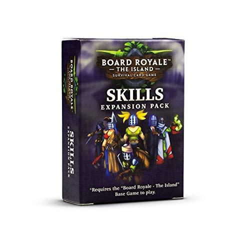 Board Royale – Kompetenz-Erweiterungspaket – 7 neue Klasse – Erweiterung für Board Royale: Basisspiel – Wettbewerbsfähiges Survival-Spiel für Freunde und Familie