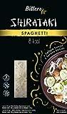 Bitters Shirataki Fit Pasta, fideos de forma Espagueti, sin gluten, paquete de 4 x 390 gr