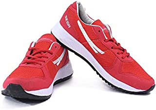 Zone MG Shoe Laceup Sneaker Sports Shoes for Men and Boys- Red