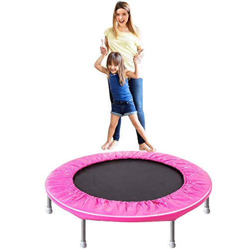 ARPSTAR Trampoline for Kids, 38' Inch Mini Kids Trampoline Indoor Use with Safety Pad | Max Load 180LBS - Pink {US Stock - Fast delivery}