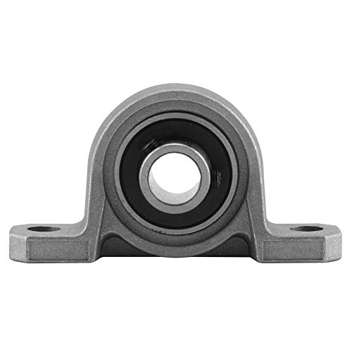 VINGVO Rodamiento de Bolas de diámetro Interior, Eje de Bolas de Metal, rodamiento Vertical de aleación de Zinc, para una fácil instalación y fijación Segura