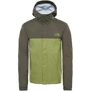 The North Face Men's Venture 2 Jacket - Iguana Green & Grape Leaf - L