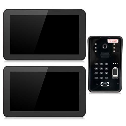 Videoportero con Timbre, Control de Acceso Remoto, videoportero 1080P, para Edificio residencial de almacén(European regulations)