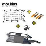 """Mockins Hitch Mount Cargo Carrier   The Steel Cargo Basket is 60"""" Long X 20' Wide X 6"""" Tall with A Hauling Weight Capacity of 500 Lbs and A Folding Shank to Preserve Space When Not in Use … … …"""