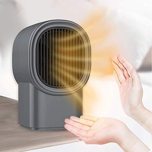KOEY Calefactor Eléctrico, Mini Calefactor, Calentador de Espacio Portátil, Calentador Habitación para...