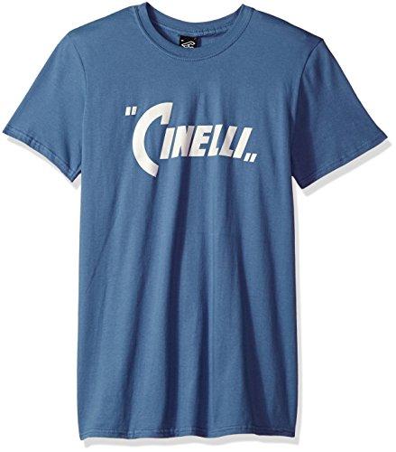 Cinelli Pennant T-Shirt, Stahlblau, Größe XS