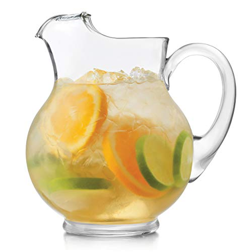 Libbey Acapulco 2-Piece Glass Pitcher Set, 89.5-ounce