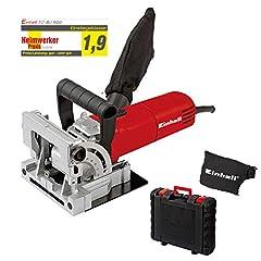 Einhell flat plug cutter TC-BJ 900 (860 W, 14 mm, hoek en hoogteverstelling, stofvanger zak, koffer)*