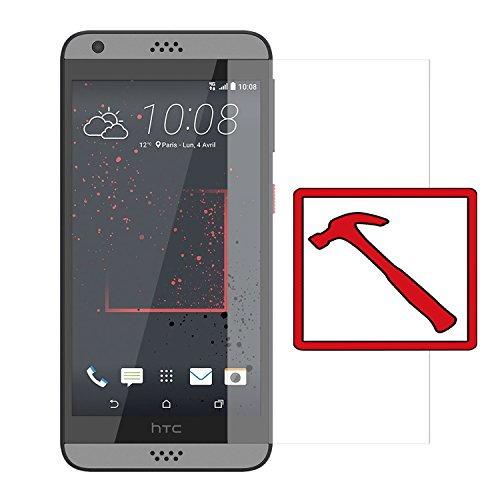 Slabo Premium Panzerglasfolie für HTC Desire 530/630 Echtglas Bildschirmschutzfolie Schutzfolie Folie Tempered Glass KLAR - 9H Hartglas
