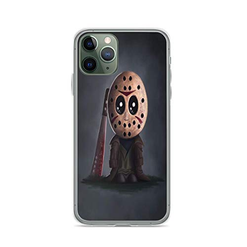 Phone TPU Soft Case Jason Voorhees Chibi Cute Compatible with iPhone 12/12 Pro Max Mini iPhone 11 11 Pro Max XR X/Xs iPhone 7/8 / SE 2020 7/8 Plus 6 6s 6/6s Plus