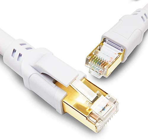 CAT8 Ultra-Cheap Deals Ethernet Cable 100FT 40Gbps Japan's largest assortment Gigabi High Speed 2000MHz SFTP