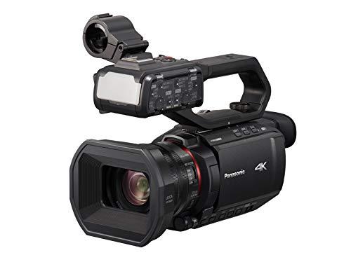 Panasonic HC-X2000E Professionele camcorder (4K video, camera met LEICA-lens, 25mm groothoek, 24x optische zoom, autofocus, professionele videocamera)