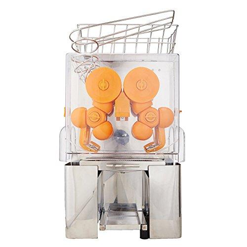 VEVOR Arancione Spremiagrumi Automatico Spremiagrumi Succo Spremiagrumi Orange Squeezer Orange Juicer Juice Extractor Machine Commercial Auto Feed Juicer