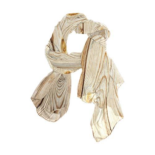 Marine 90x180 CM Kopf wickelt einfaches Leben Holzzaun Textur drucken leichte quadratische Taschentuch für Frauen Mädchen Damen gefallen Schal Schal