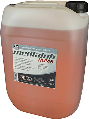 KETTLITZ-Medialub HLP 46 Hydrauliköl auf Mineralölbasis - 20 Liter Gebinde
