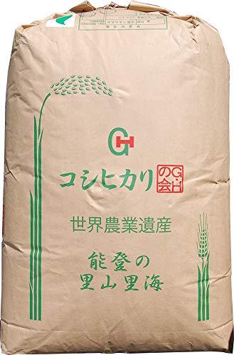 【2年産】玄米 2kg エコ米 石川 こしひかり レターパックプラス (3分づき米に)