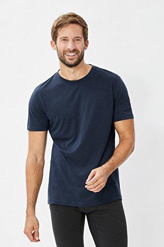 super natural Base 140 sous-vêtement Thermique Manches Courtes Homme, Ocean Deep, FR (Taille Fabricant : XL)
