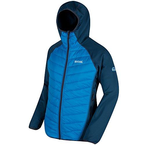 Regatta Men's Andreson II Hybrd Non-waterproof Jackets, Majolic/Petr, Medium