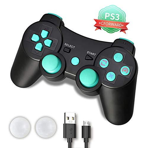 PS3 Controller, PS3 Controller Wireless, PS3 Remote, CFORWARD 1Pack...
