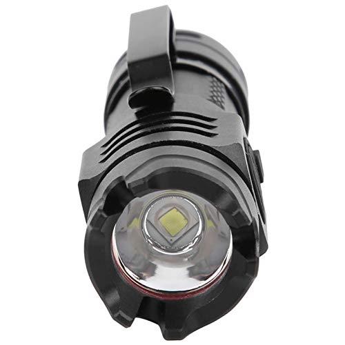 Antorcha de mano Proyector portátil Linterna Portátil USB Recargable Aleación de aluminio Mini tácticas SS-T40 Linterna de luz de trabajo fuerte