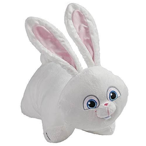"Pillow Pets NBC Universal Secret Life of Pets 2, Snowball, 16"" Stuffed Animal Plush Toy, White"