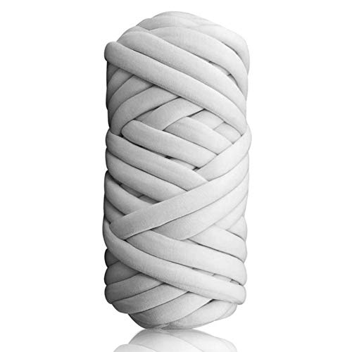 Lembeauty - Manta tejida a mano para tejer hilo de hilo redondo de tela gruesa para hacer hilados de manta de hilo, alfombra, nidos de mascotas, cojín, 510 g