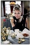 Poster und Drucke 40x60cm Rahmenlos Frühstück für Audrey