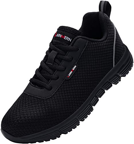 Chaussure de Securité Homme Femme,S1/SBP SRC Respirables Ultra Légères Chaussures de Travail Antidérapant