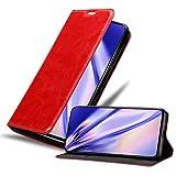 Cadorabo Funda Libro para Samsung Galaxy A90 5G en Rojo Manzana - Cubierta Proteccíon con Cierre...