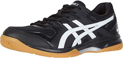 ASICS Gel-Rocket 9 Men's Volleyball Shoes, Black/White, 15 M US