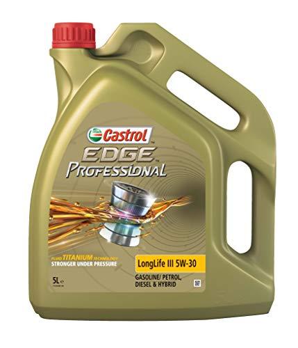 Castrol 15AC4A 157EA5 Professional Edge Professional LL III 5W-30, 5 Liter