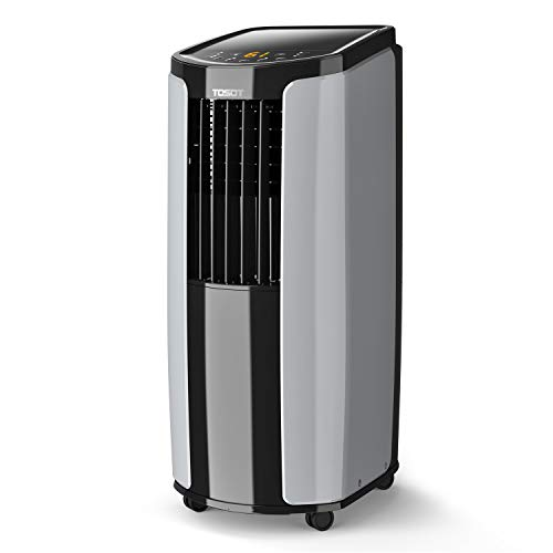 TOSOT 8,000 BTU Portable Air Conditioner - Quiet, Remote Control, Built-in Dehumidifier, Fan - Cool Rooms Up to 300 Square Feet