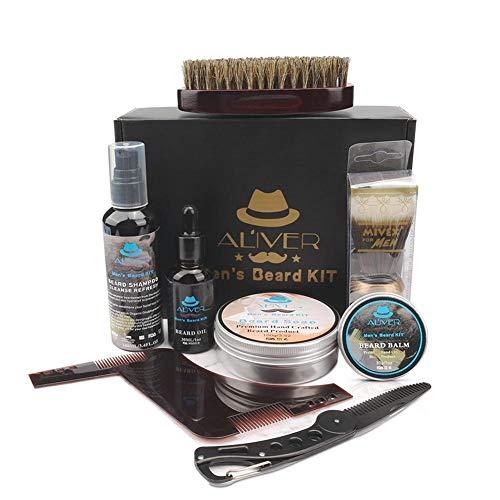 mooderf Men's care beard set beard beard beard cream comb brush styling comb 100ml