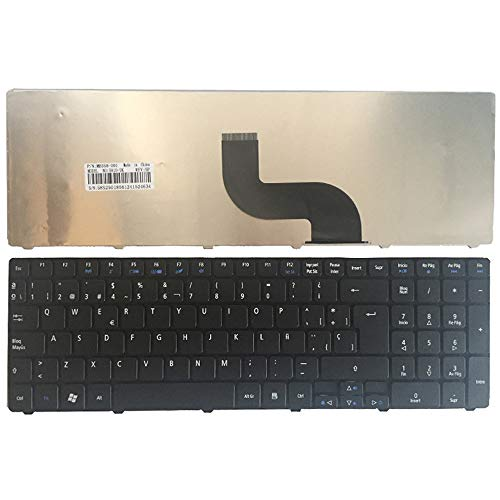 Laptop Replacement Keyboard Fit Acer Aspire 5742 5744 5745 5750 5800 5810 5820 7251 7235 7250 7331 7336 7535 7540 Spanish Layout