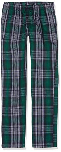 Schiesser Jungen Mix & Relax Webpants Schlafanzughose, Blau (Nachtblau 804), 176 (Herstellergröße: L)