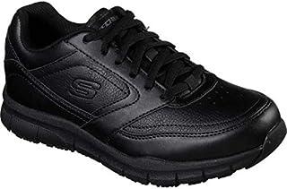 (スケッチャーズ) Skechers レディース シューズ?靴 Work Relaxed Fit Nampa Wyola Slip Resistant Shoe [並行輸入品]