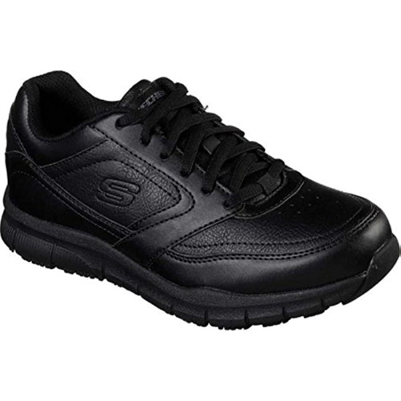 害虫葡萄満員(スケッチャーズ) Skechers レディース シューズ?靴 Work Relaxed Fit Nampa Wyola Slip Resistant Shoe [並行輸入品]