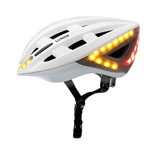 Lumos Kickstart Fahrradhelm, Pearl White, One Size