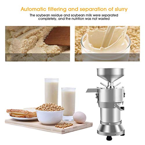 Frisch gemahlene Sojamilch-Maschine, Tofu-Maschinen-Bohnen-Blumen-Maschinen-automatischer Massen-Rückstand-Trennungs-Raffinierer - für Haushalt und Werbung