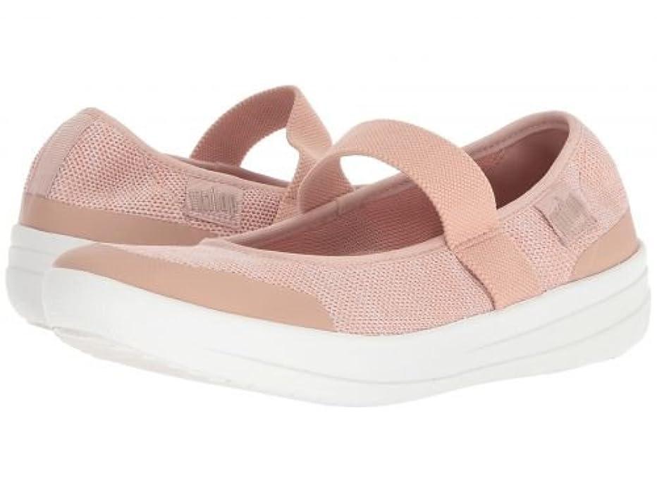 段階外側たるみFitFlop(フィットフロップ) レディース 女性用 シューズ 靴 フラット Uberknit Mary Jane - Neon Blush/Urban White 10 M (B) [並行輸入品]
