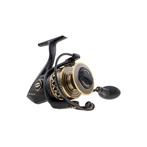 PENN 1338218 Battle II Spinning Reel, 3000