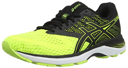 Asics Gel-Pulse 10, Zapatillas de Running para Hombre, Amarillo (Flash Yellow/Black 750), 41.5 EU