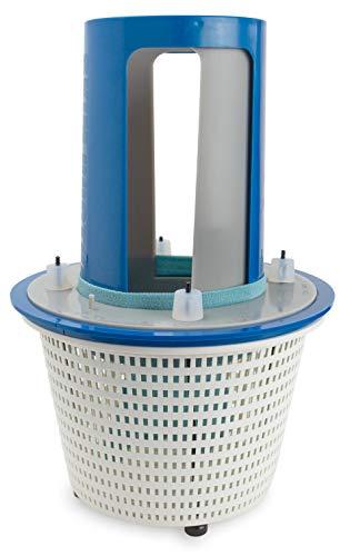 SkimDoctor 2.0 Pool Skimmer Basket Turbocharger With Non-corrosive Fittings | Includes Skimmer Sock For Easy Debris...